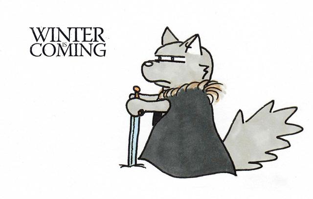 comparaison livre série game of thrones - Game of Thrones : du livre à la série 20120803 winter is coming