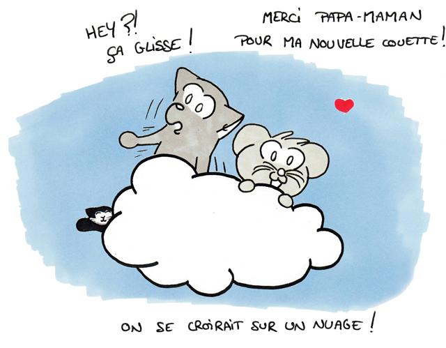 Sur un petit nuage