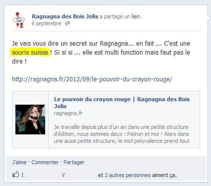 Ragnagna Suisse, c'est le Chti qui le dit !