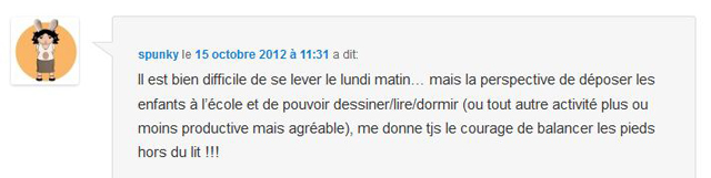 Commentaire Spunky