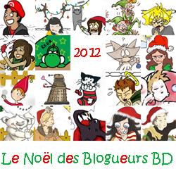 Le Noël des Blogueurs BD 2012