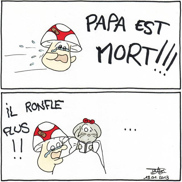 Papa est mort !