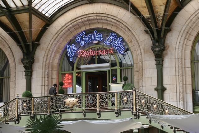 Entrée du Train Bleu, Paris Gare de Lyon