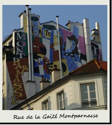 Rue de la Gaité Montparnasse