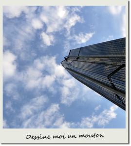 Montparnasse et jolis nuages