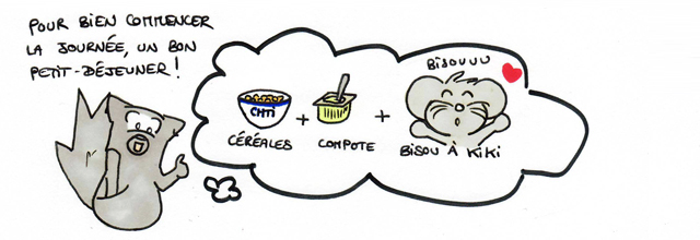 Version Chti : un petit-déjeuner équilibré