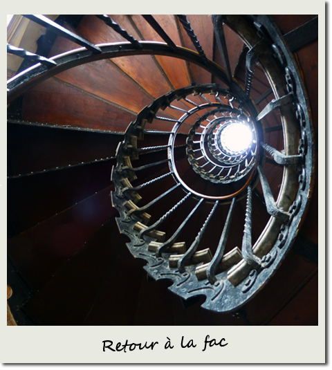 Escalier d'Harry Potter