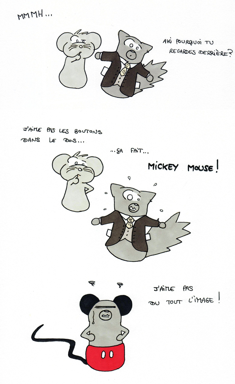 Mickey Mouse Juju