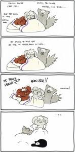Mamie dans le coma