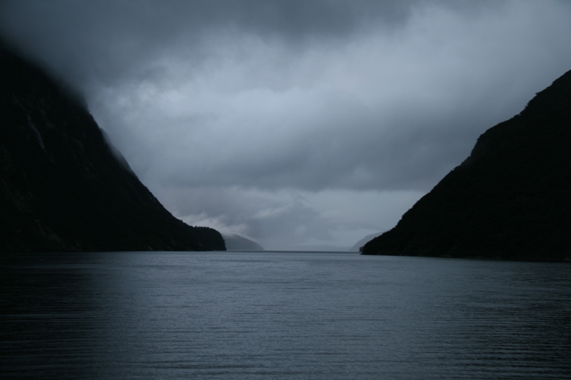 Petit matin sur Doubtful Sound