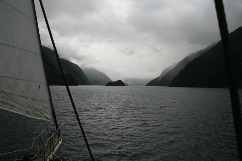 Doubtful Sound sous voiles