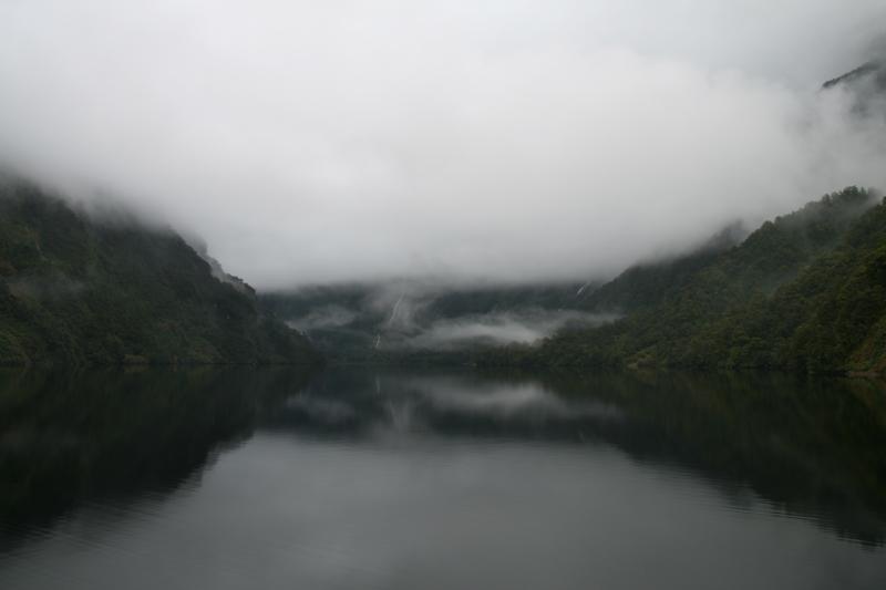 Effet miroir sur Doubtful Sound