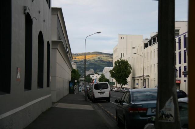 Au bout de la rue...