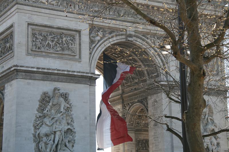 Place Charles-de-Gaulle, l'Arc de Triomphe