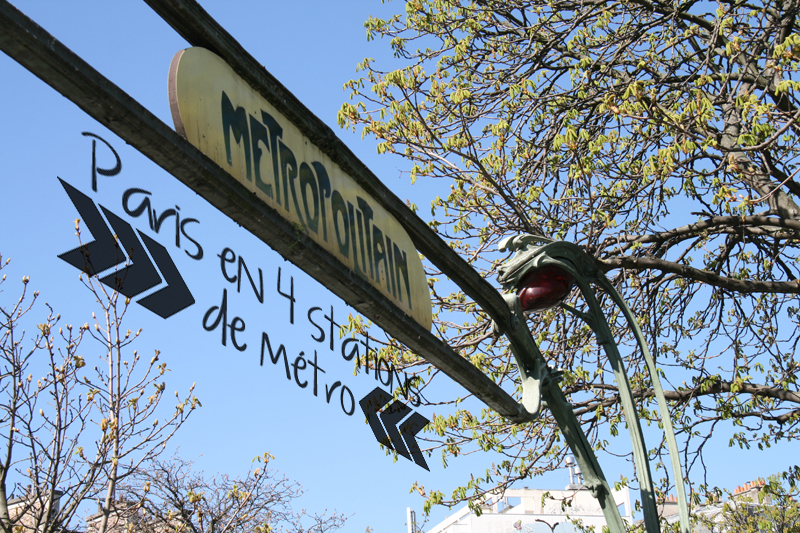 Paris en 4 stations de métro