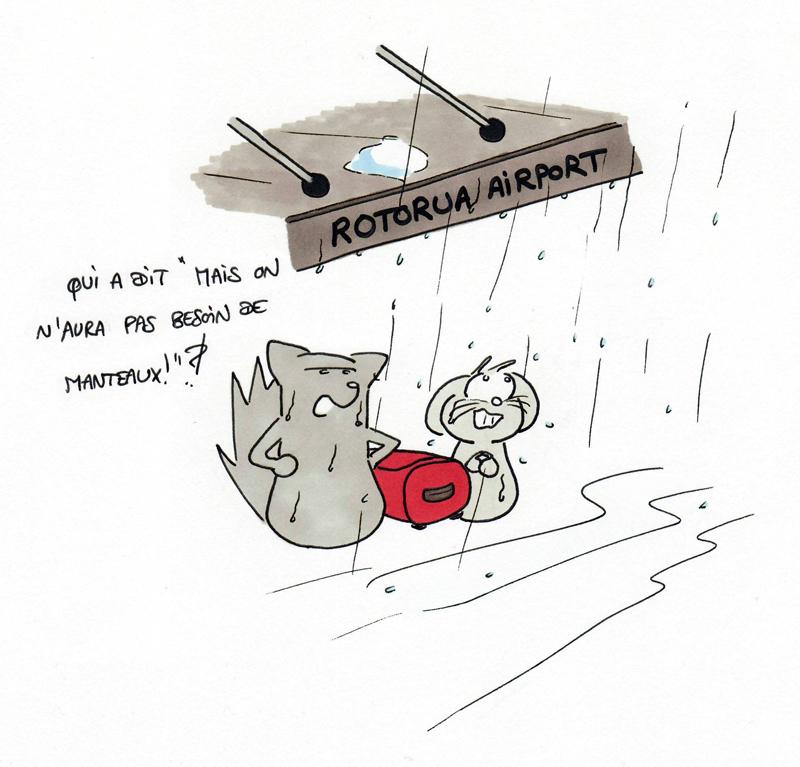 Premières pluies en Nouvelle-Zélande