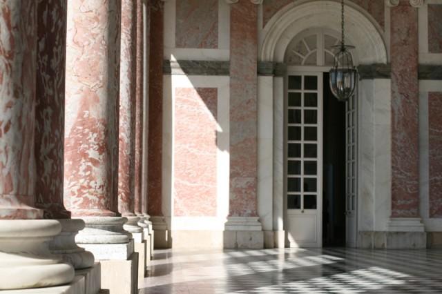 Péristyle du Grand Trianon, perspective