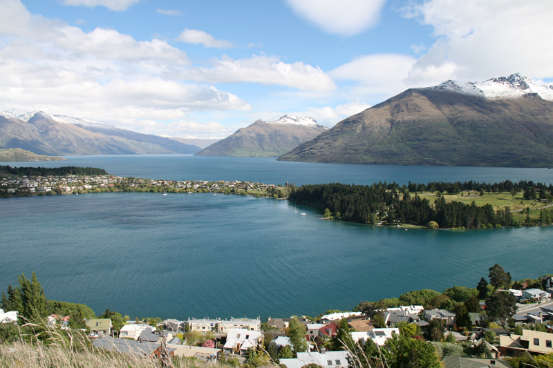 Panorama sur Queenstown