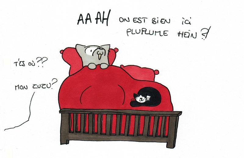 Au chaud dans son lit...