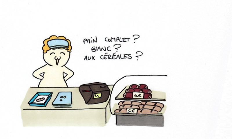 Petit pain ou pain au chocolat ?