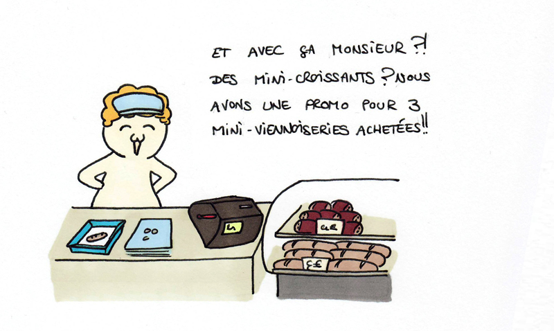 """Un """"petit pain au chocolat"""" ?"""