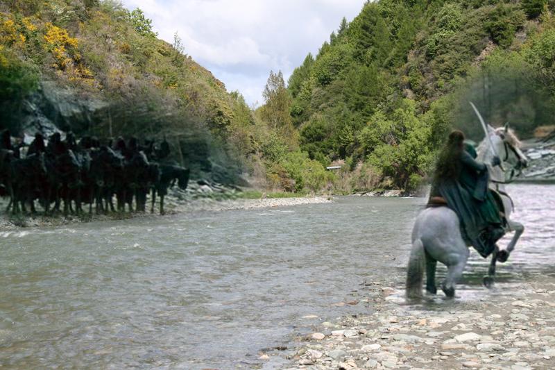 Arrow River, Lord of the Rings, gué de Bruinen