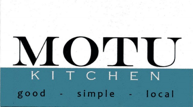 Carte Motu Kitchen