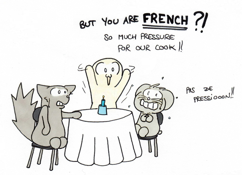 La réputation de la gastronomie française