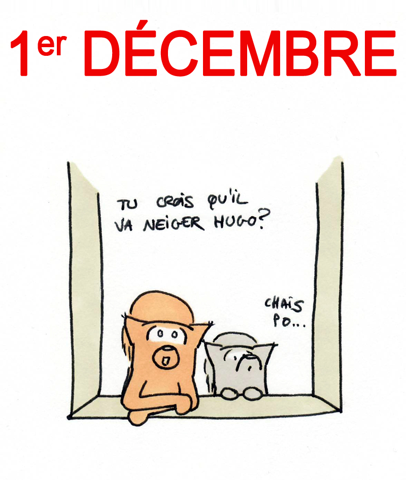 Calendrier de l'Avent 1er décembre