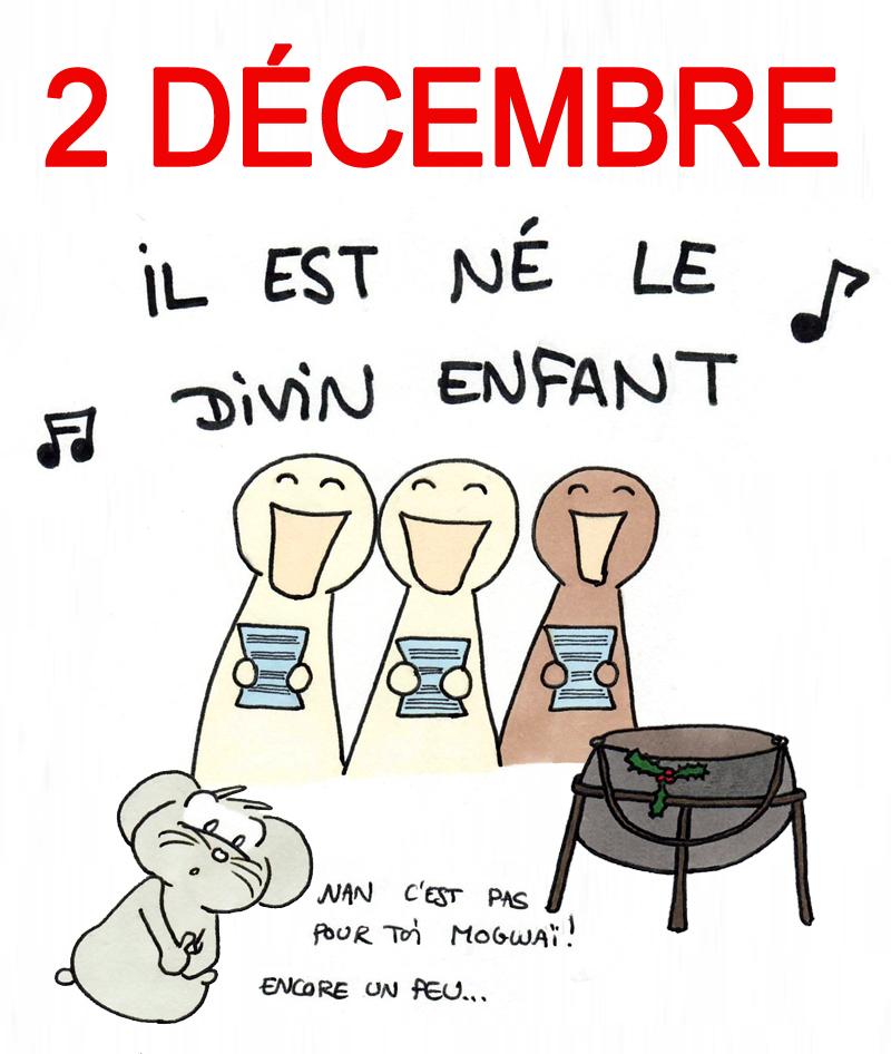 Calendrier de l'Avent 2 décembre