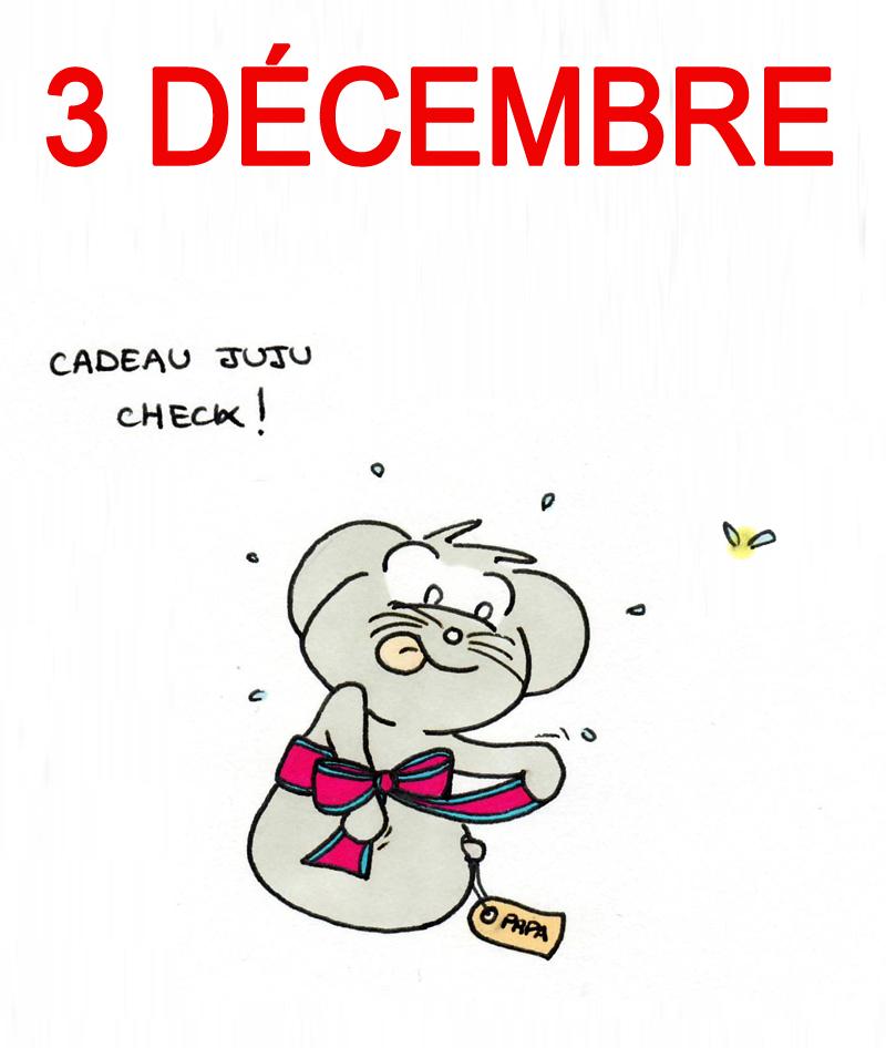 Calendrier de l'Avent 3 décembre
