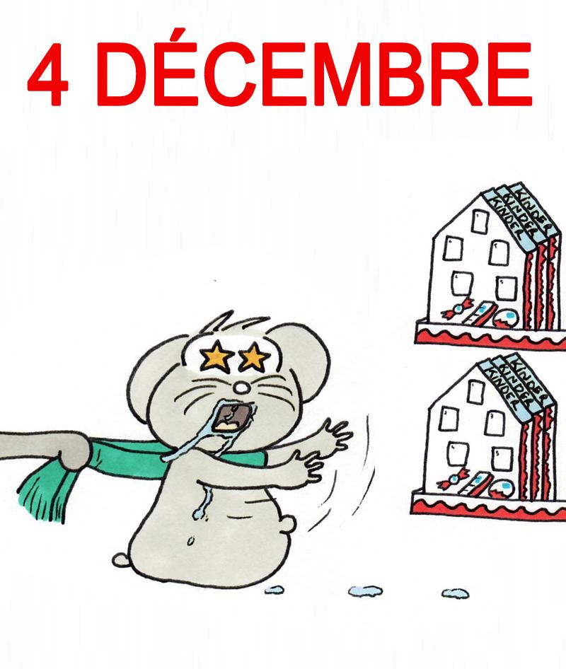 Calendrier de l'Avent 4 décembre