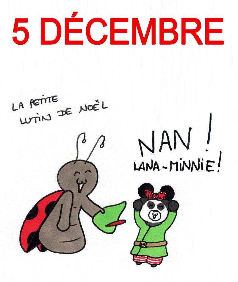 Calendrier de l'Avent 5 décembre