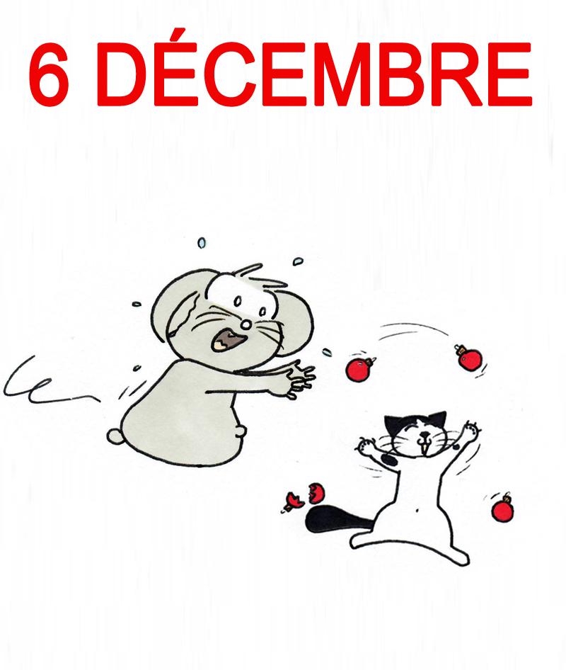 Calendrier de l'Avent 6 décembre