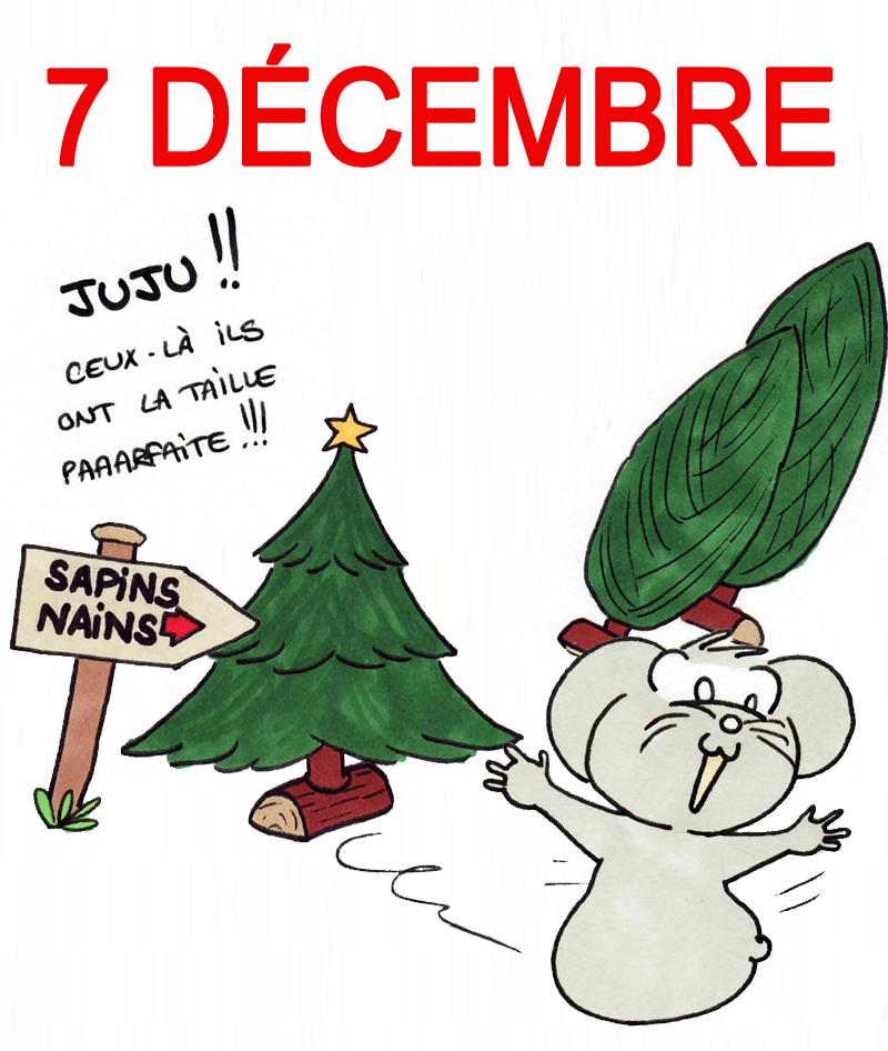 Calendrier de l'Avent 7 décembre