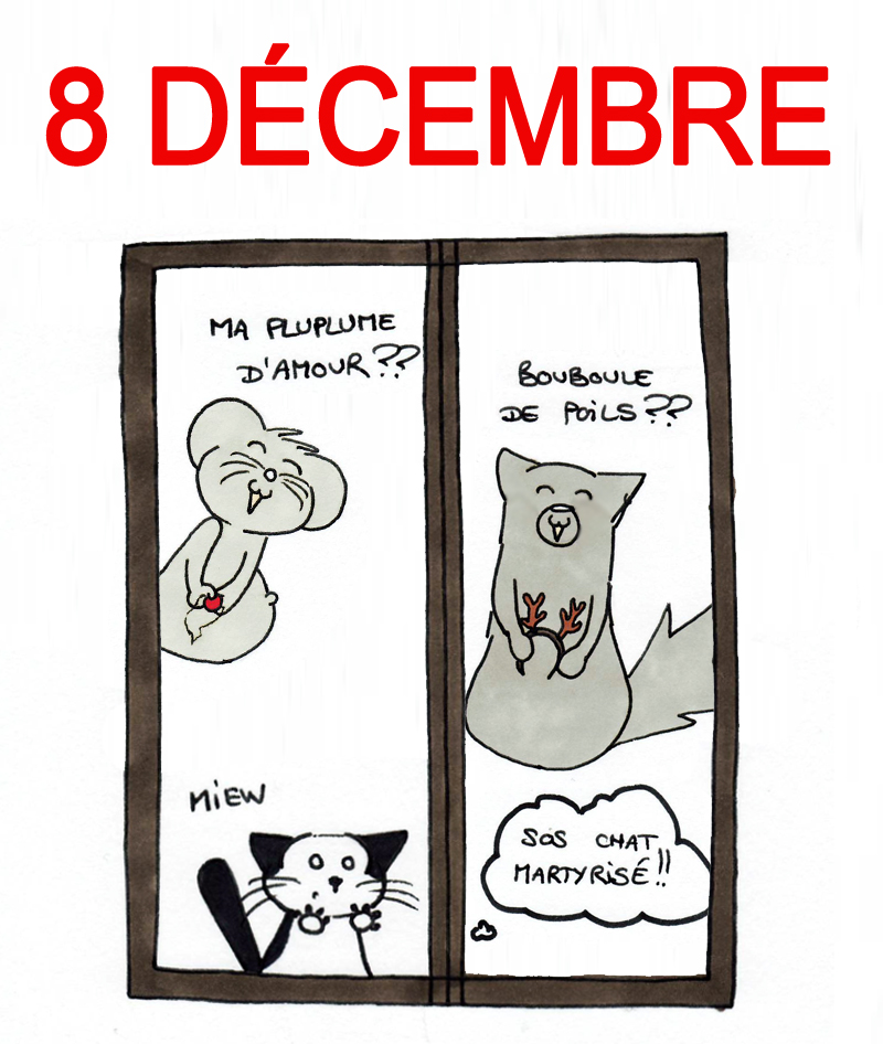 Calendrier de l'Avent 8 décembre