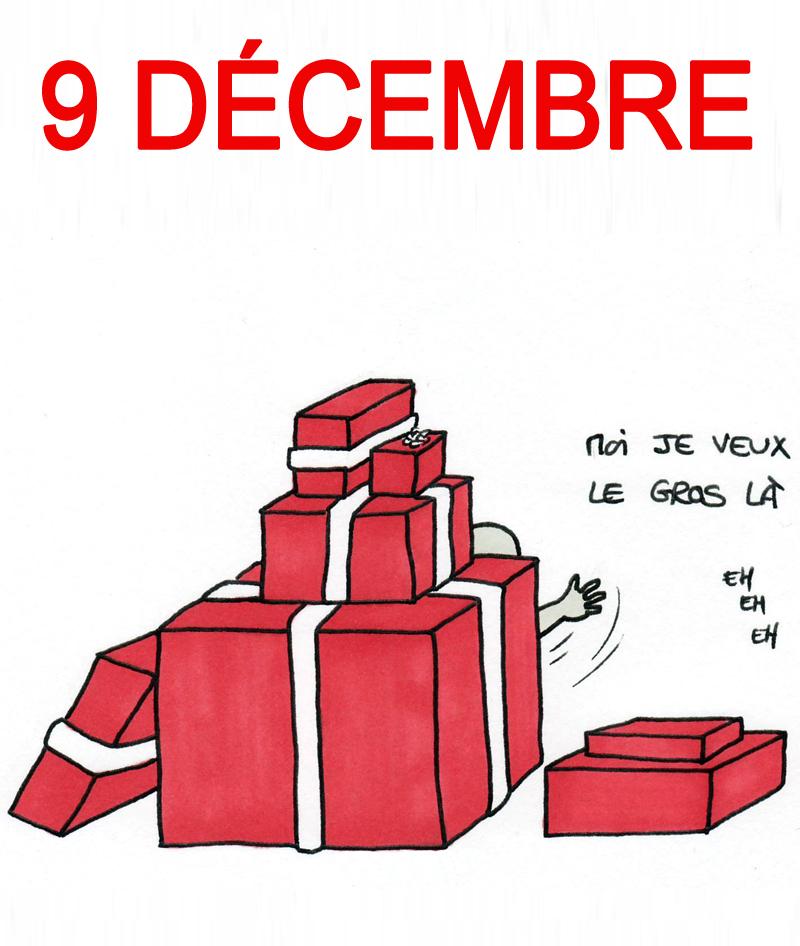 Calendrier de l'Avent 9 décembre