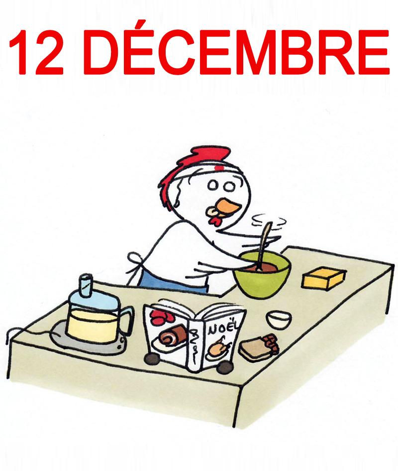 Calendrier de l'Avent 12 décembre