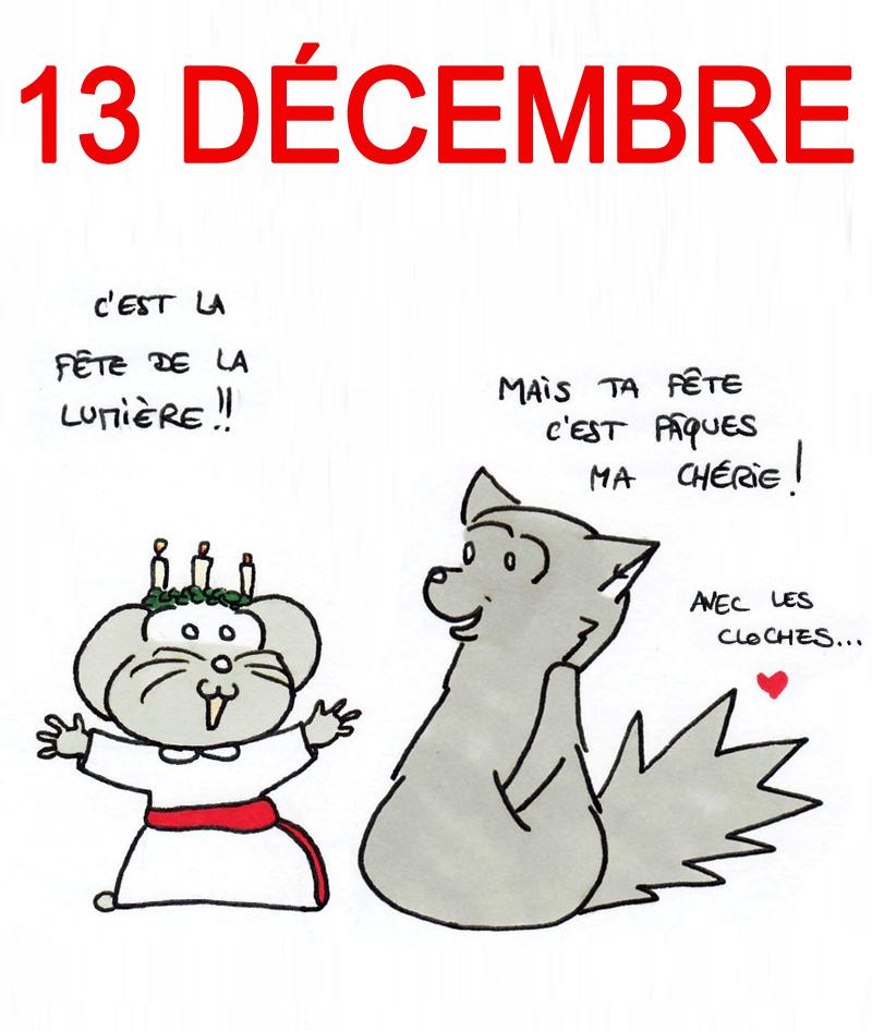 Calendrier de l'Avent 13 décembre