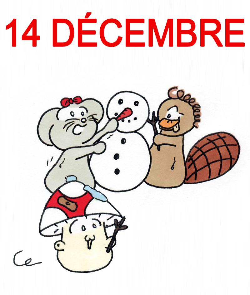 Calendrier de l'Avent 14 décembre