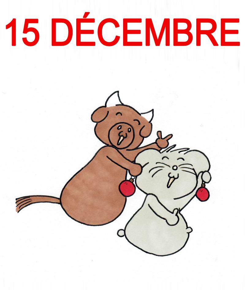 Calendrier de l'Avent 15 décembre