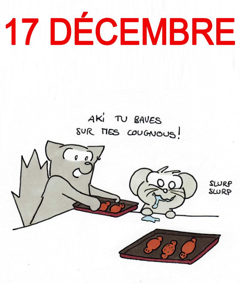 Calendrier de l'Avent 17 décembre