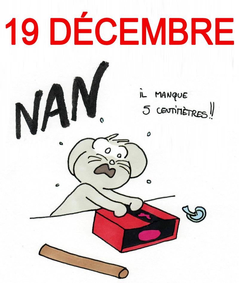 Calendrier de l'Avent 19 décembre
