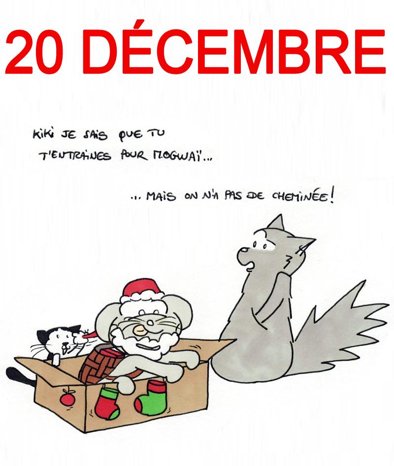 Calendrier de l'Avent 20 décembre