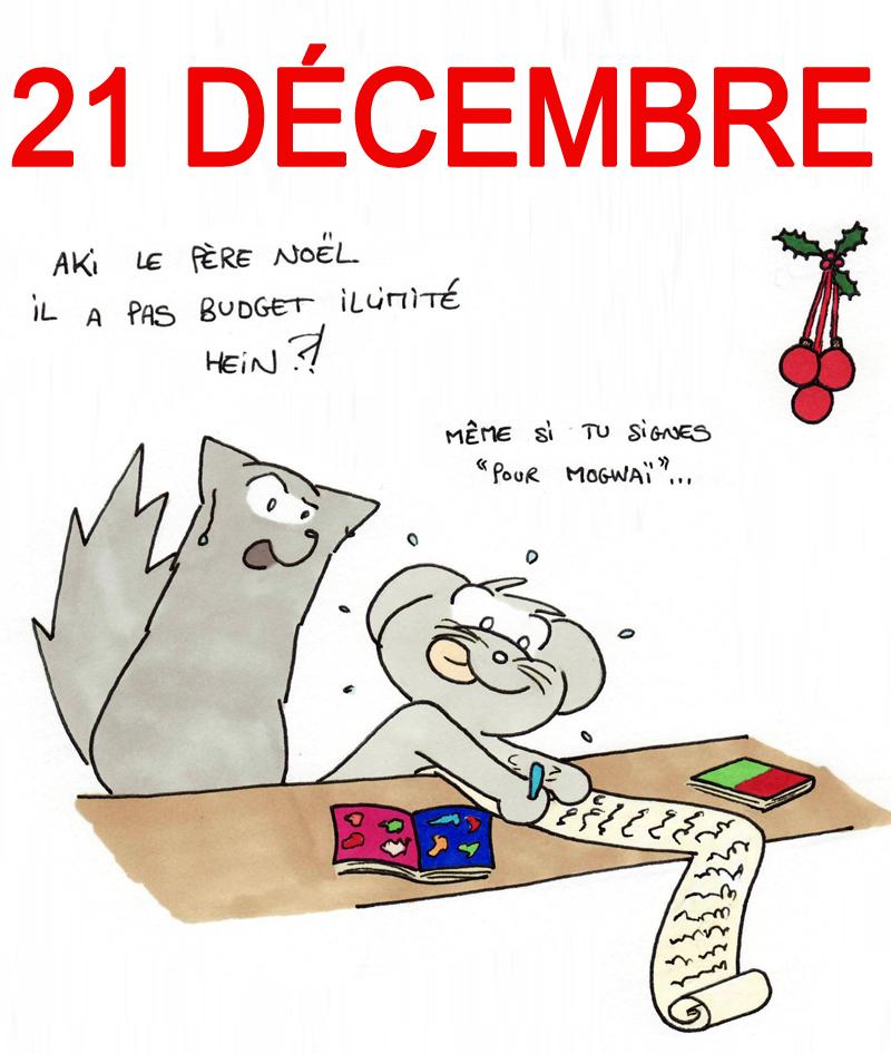 Calendrier de l'Avent 21 décembre