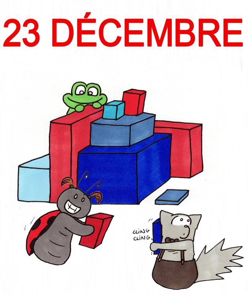 Calendrier de l'Avent 23 décembre