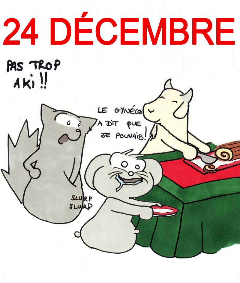 Calendrier de l'Avent 24 décembre