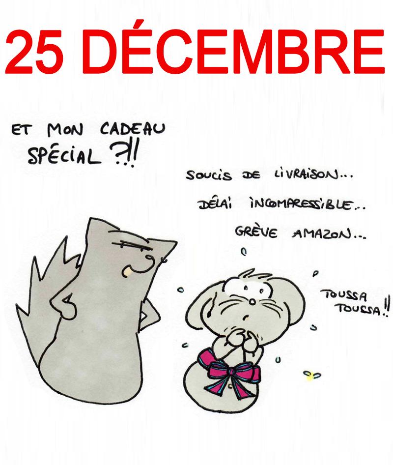 Calendrier de l'Avent 25 décembre