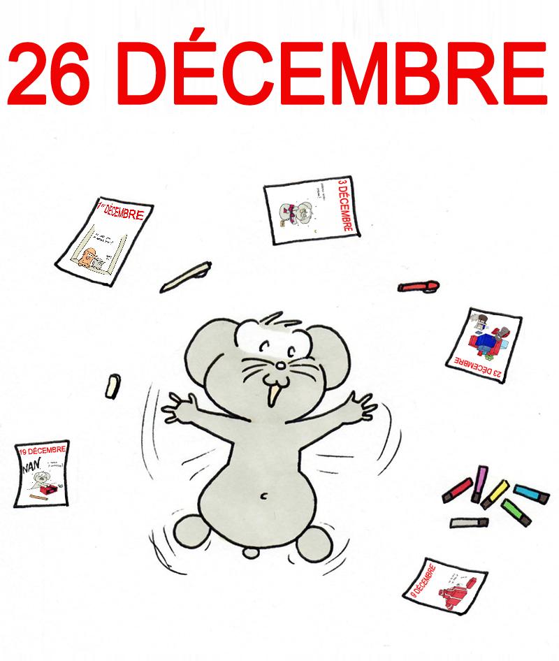Calendrier de l'Avent 26 décembre