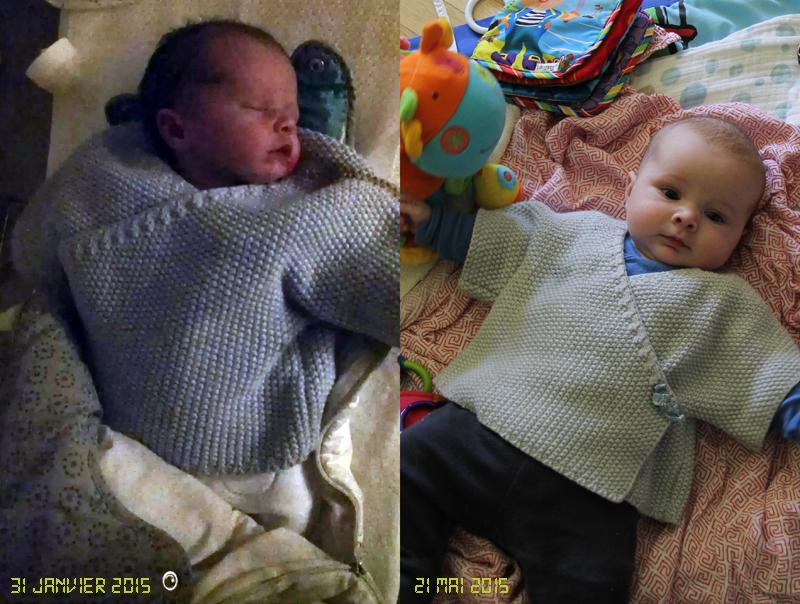 Même pull, même bébé